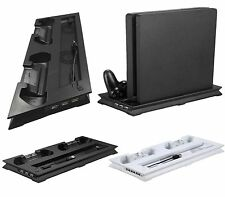 USB Cooling Fan Stand Pad Controller Charger Dock For Sony PS4 Slim Console