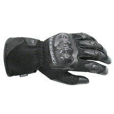 Dririder Air - Ride Leather Summer Sport Touring Gloves Ladies Black XXS - Large