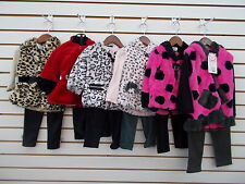 Infant & Toddler Girls Sweet & Soft $58 3pc Faux Fur Sets Size 12 Months - 3T