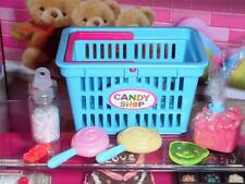 Rement Candy Shop Shopping Basket fits Fisher Price Loving Family Dollhouse RARE