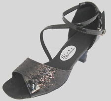 Ladies Black Ballroom, Latin, Salsa, Jive, Tango Dance Shoes - UKSizes 3.5,4,7.5
