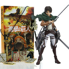 Anime Attack on Titan Shingeki no Kyojin Ackerman Levi Eren Action Figure Toys
