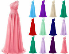 New Chiffon Bridesmaid Prom Dress Formal Gown Party Cocktail Evening Stock 6--18