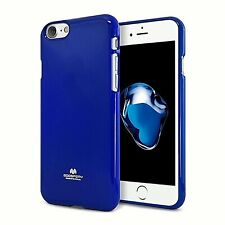 Genuine MERCURY Goospery Metallic Blue Soft Jelly Case Cover For Apple iPhone 7