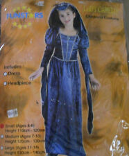 Anglo Saxon Tudor costume girls Elizabethan Tudor Medieval Dress Lady Camelot