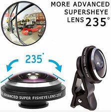 235° Clip Super Fisheye Lens Camera For iPhone HTC LG SAMSUNG Smart Cell Phone