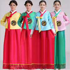 2017 Hot Luxury Korean Traditional Clothes Dress HANBOK WOMAN with silver hanbok