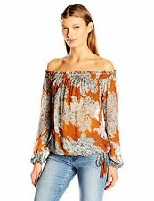 Lucky Brand Women's Printed Multi Function Top - Choose SZ/Color