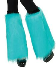 Fluffies Furry Leg Warmers Fancy Dress Up Halloween Costume Accessory 5 COLORS