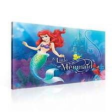 Dinsey the little Mermaid CANVAS PRINT WALL ART XXL (PPD663WS)
