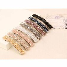 Bling Beads Hair Clip Crystal Rhinestone Hair Accessories Barrette Hairpin