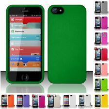 For Apple iPhone 5 Matte Snap-On Hard Phone Case Cover