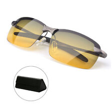 Night Vision Anti-glare Polarized Driving Glasses - Black/ Grey Frame