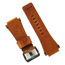 B & R Bands Cognac Vintage Leather Bell & Ross Watch Band Strap BR01 BR03