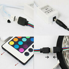 3/10/24/44 Keys Mini IR Remote Controller For 3528 5050 RGB LED Strip Light LA y