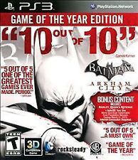 Batman: Arkham City - Game of the Year Edition - Playstation 3 Game PS3
