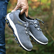 Casual Men's Sports Shoes Outdoor Hiking Trai Sneakers Travel Running Breathable