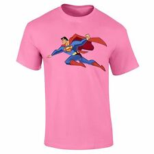 Mens Boys Flying Superman Comic 3D Compression Cotton Casual T shirt Top Lot