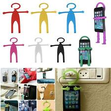 Compatible Cute Flexible Silicon Cell Phone Holder Car Home Mobile Hanger Mount