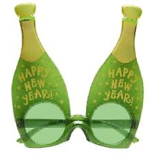 Happy New Year Sunglasses Novelty NYE Party Fun Fancy Dress Night Out Champagne