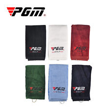 Golf Sports Comfortable Cotton Golf Towel w/ punch hook for Mountaineer