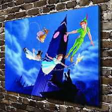 Canvas HD Picture Print Art Painting Home Decoration, Disney Peter Pan 16''x24''