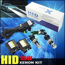 55W H4 bixenon Hi lo HID Kit Xenon H/L beam Car Headlamp light Slim Ballast Bulb