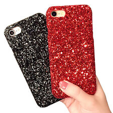 Luxury Matte Glitter Sparkle Bling Hard Back Skin Case Cover for iPhone 7/6 Plus
