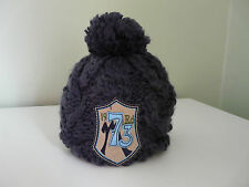 BNWT MONSOON BOYS BLUE KNITTED SOFT WINTER BEANIE BOBBLE HAT SIZE 3-6 YEARS