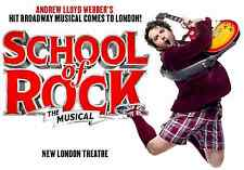 London Theatre and Hotel Package - SCHOOL OF ROCK - Tickets From £114