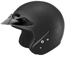 Cyber Helmets U-6 Solid Open Face Motorcycle Riding Helmet (All Colors & Sizes)