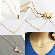 Women's Fashion Clavicle Chain 18K Rose Gold-plated Girls Jewelry Necklace