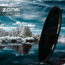 Zomei 720NM Infrared X-RAY IR Filter for Cannon, Nikon, Pentax, Olympus Camera