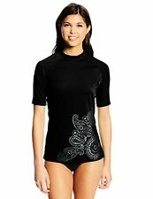 Kanu Womens Swimwear 1593 Surf Lanai UPF 50+ Rash Guard L- Choose SZ/Color.