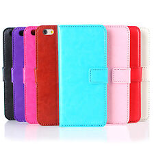 WOW Luxury Practical Wallet Flip PU Leather Phone Case Cover For iPhone Fashion
