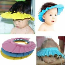 Kids Shampoo Soft New Hat Bathing Shower Cap Wash Hair Shield