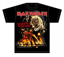 Iron Maiden: Number of the Beast T-Shirt  Free Shipping  New  Official