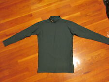 Under Armour ColdGear Tactical Mock Fitted Long Sleeve Baselayer Shirt XL GreenB
