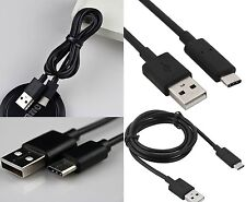 Type-C USB 3.1 Charger Reversible Type C Data Fast Charging Charge Cable  :Black