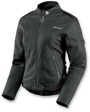 New Icon Hella Womens Leather Motorcycle Jacket