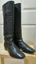 Blaine Knee High Leather Stretch Shaft Women's Boots 9 1/2