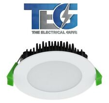 10 X 13W LED DOWNLIGHT KIT 5 YEAR WARRANTY DIMMABLE 90MM CUTOUT WHITE/CHROME