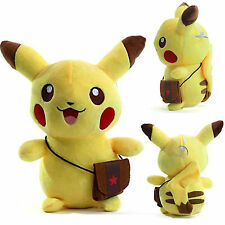 Pokemon Pikachu Figure Soft Stuffed Plush Doll Kids Children Baby Toys Xmas Gift