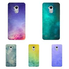 Case For ZTE Axon 7 Mini Blade V7 Lite A1 Soft TPU Phone Back Cover Stars Marble