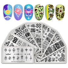 BORN PRETTY Nail Stamping Image Plates Nail Art Stamp Template Manicure Stencil