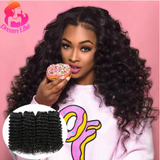 Deep Wave Hair Extensions 2 Bundles Virgin Brazilian Hair Cheap Human Hair Weave