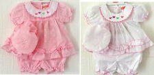 Premature Baby Girl broderie Anglaise Dress Mop Hat Knickers Reborn 3-5-8 lbs
