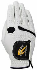 New! GOLF Callaway Warbird Syn Leather Right GLOVES for Left Handed Player Mens