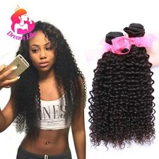 Cheap Brazilian Hair 2Bundles Curly Human Virgin Hair Weave 200g Hair Extensions