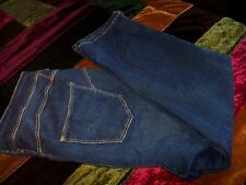 MARKS AND SPENCER SCULPT AND LIFT CROP JEANS SIZE 16